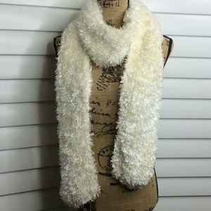 Super Soft Cream Color Long Scarf